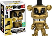 2016 SDCC Exclusive Funko pop Official Five Nights at Freddys Golden Freddy Vinyl Action Figure Collectible Model Toy In Stock