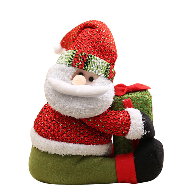 hot sale christmas decorations for home 2017 diy christmas gifts for the new year felt cloth