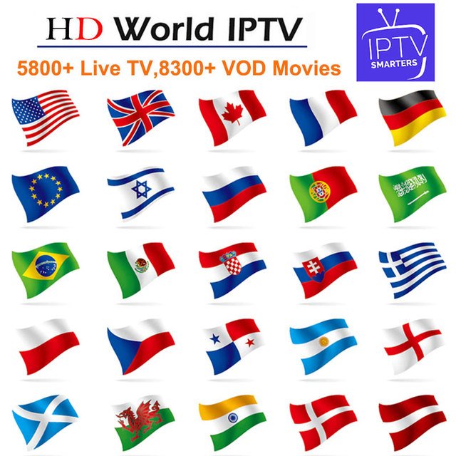 Europe IPTV Subscription French Belgium Spain Arabic Dutch For TV Box  Android m3u enigma2 mag250 5300+Live and 8000+ Vod Movies
