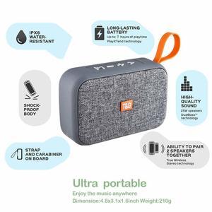 Image 2 - ポータブルワイヤレス Bluetooth スピーカーミニ最高の多機能屋外ステレオ 3d ステレオ音楽サラウンドサポート Tf Usb Pk アンカー