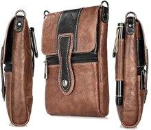 Holster Man Shoulder Belt Clip Mobile Phone Leather Case For HTC U Play/U11/10 evo,Desire 10 Lifestyle/10 Pro,Desire 825/728/828