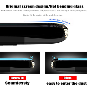 Image 3 - 25 PCS 9D Full Glue Curved Tempered Glass For iPhone 11 Pro Full Screen Protector Glass For iPhone XS XR Protective Film
