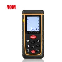40m 131ft 60M 192ft 80M 262ft 100M 328ft Laser Distance Meter IP54 Lazer Rangefinder Tape Measurer