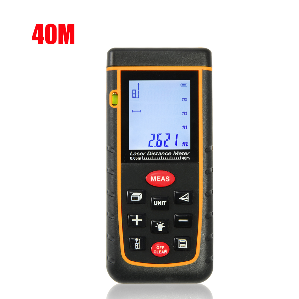 Firecore 40m(131ft)/60M(192ft)/80M(262ft)/100M(328ft) Laser Distance Meter IP54 Lazer Rangefinder Tape Measurer Tool laser range finder 40m 60m 80m 100m digital laser distance meter tape area volume angle engineer measure construction tools