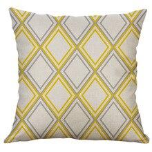 Simples linho criativo adorável capa de almofada casa festa hotel têxtil 45cm * 45cm capa de travesseiro tampas do carro dropshipping quente