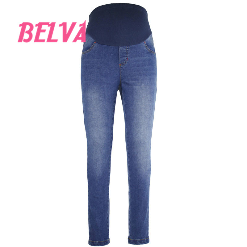 65d4748af7 Belva Embarazadas pantalones Vaqueros de Maternidad Pantalones ...