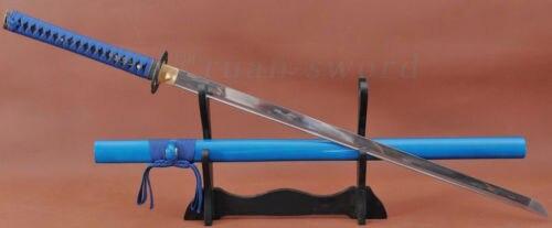 100/%HANDMADE 1060 CARBON STEEL JAPANESE SAMURAI NINJA SWORD FULL TANG BLADE