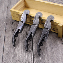 FOURETAW Portable 4 In 1 Professional Wine Opener Multifunction Screw Corkscrew Bottle Cook Tools