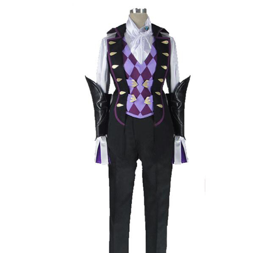 2017 High Quality Fire Emblem Fates Fire Emblem If Jakob Costume Halloween Cosplay Costume fates warning fates warning theories of flight 2 lp
