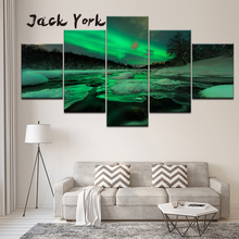 Canvas Painting beautiful landscape  5 Pieces Wall Art Modular Wallpapers Poster Print Home Decor