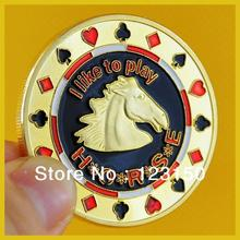 Card Protector, Texas Holdem Accessories, Horse