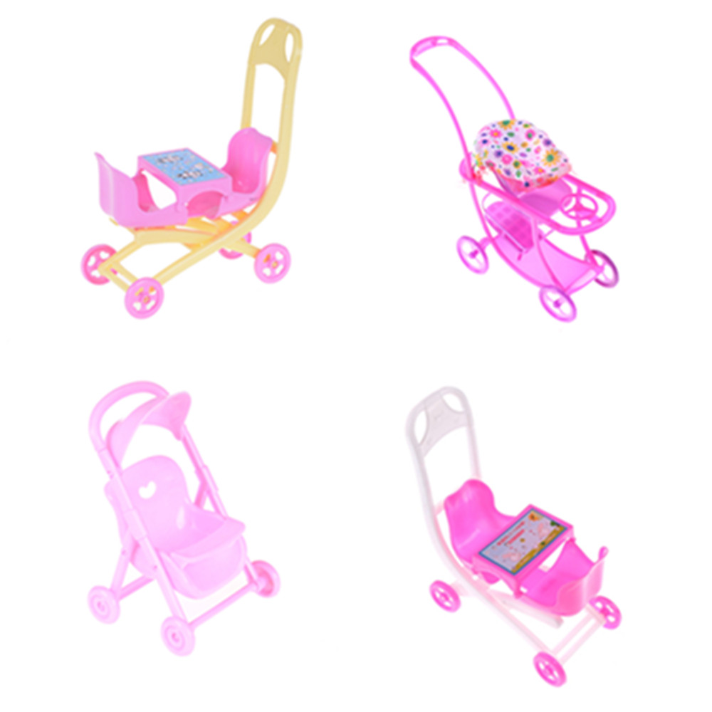 Baby Infant Doll Stroller Carriages for Stroller Accessories Trolley Nursery Beach Sunbathing Chair Toys Furniture For