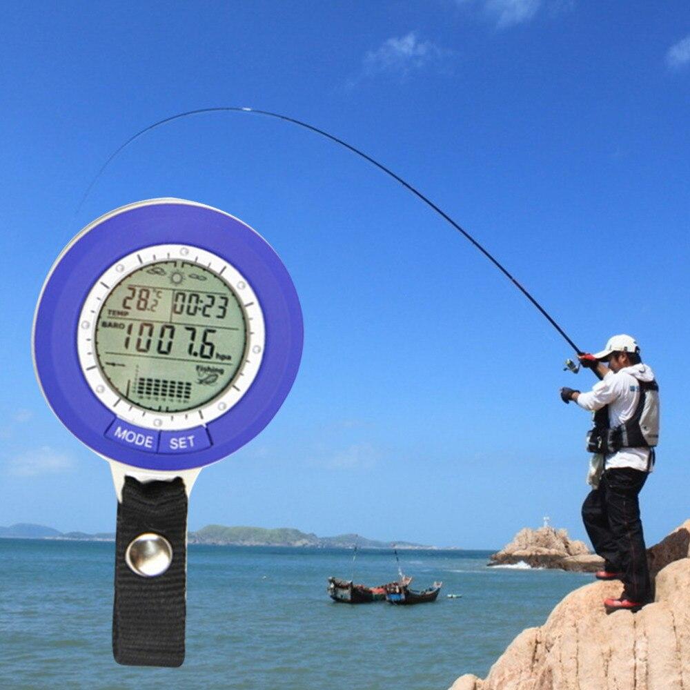 Pesca barómetro Multi-función LCD Digital al aire libre pesca barómetro Plus-altímetro y termómetro de la venta caliente