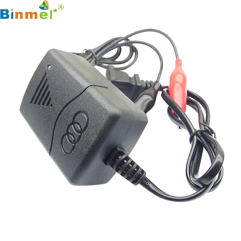 Binmer Car Battery Charger Truck Motorcycle 12V Smart Compact Tender Maintainer NEW Dec1