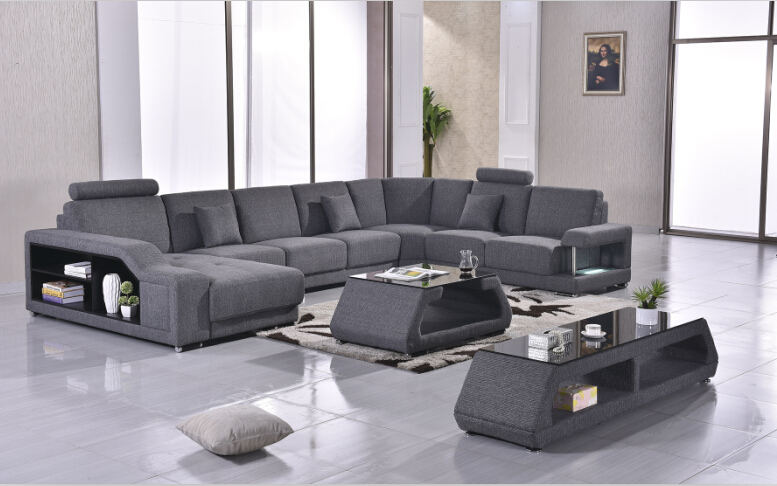 Sofas For Living Room Corner Sofa U Shap Sectional With Fabric Sofa Set In  Living Room Sofas From Furniture On Aliexpress.com | Alibaba Group