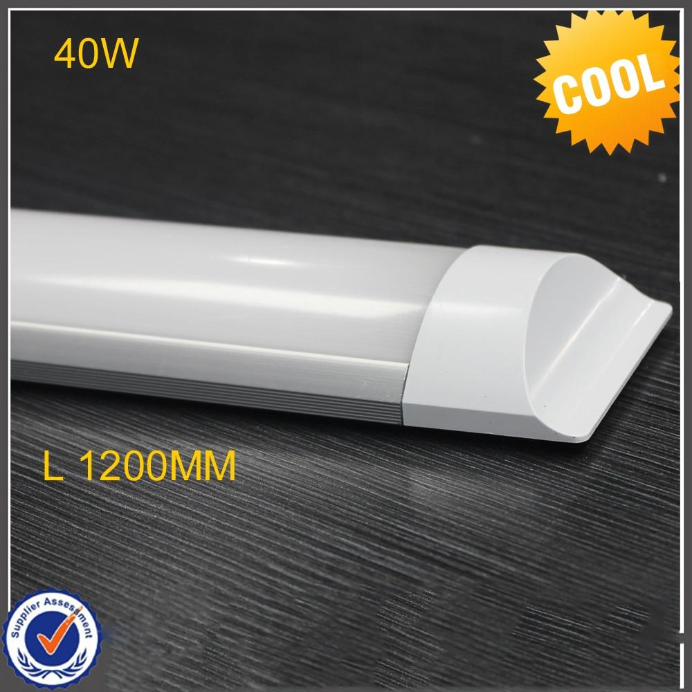 40W 120cm 26W LED Batten Tube Light Cold White/Warm Whtie 2835SMD LED light, AC85-265V CE RoHS DHL UPS Free Shipping