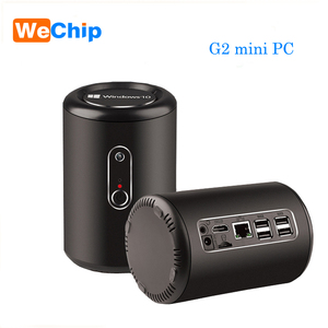 G2 Mini PC Z3736F Quad core 2G+32G Windows 10 2.4G 5.8G Dual Wifi Bluetooth 4.0 with 2MP HD Camera add with MIC Function Player