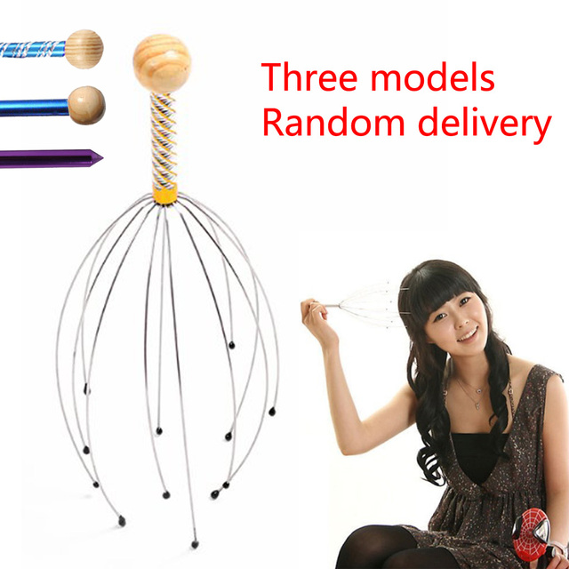 Hot Sale Head Scalp Neck Equipment Stress Release Relax Massage Body Massager Head  Massage Tools