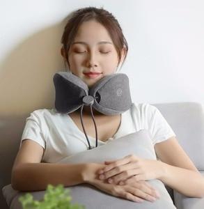 Image 2 - חדש Youpin LF U צורת רכב/בית צוואר חשמליים לעיסוי שיאצו כתף חזרה גוף לעיסוי אינפרא אדום 3D שינה עבור בית חכם