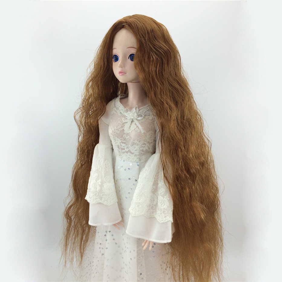 Bybrana BJD парик ярмарка Размер 1/3 1/4 1/6 1/8 длинные волнистые волосы из высокотемпературного волокна для кукол