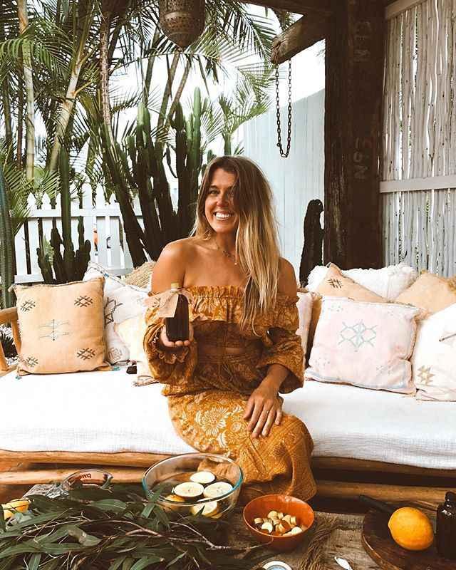 BoHo Terinspirasi Gurun Bunga Cetak Wanita Liar Kaki Celana Pinggang Elastis Rumbai BoHo Celana Gypsy Chic Kasual Celana wanita