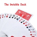 The Invisible Bicycle Deck Amazing Magic Cards Close Up Street Magic Tricks Stage Magic Props Mentalism Comedy Kid Puzzle Toys