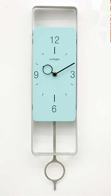 Contemporary And Contracted Fashion Pendulum Clock Personality Wrought Iron Wall Creative Living