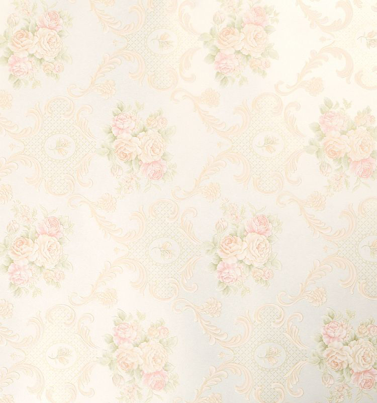 Photo Collection Floral Wallpaper Light Colors