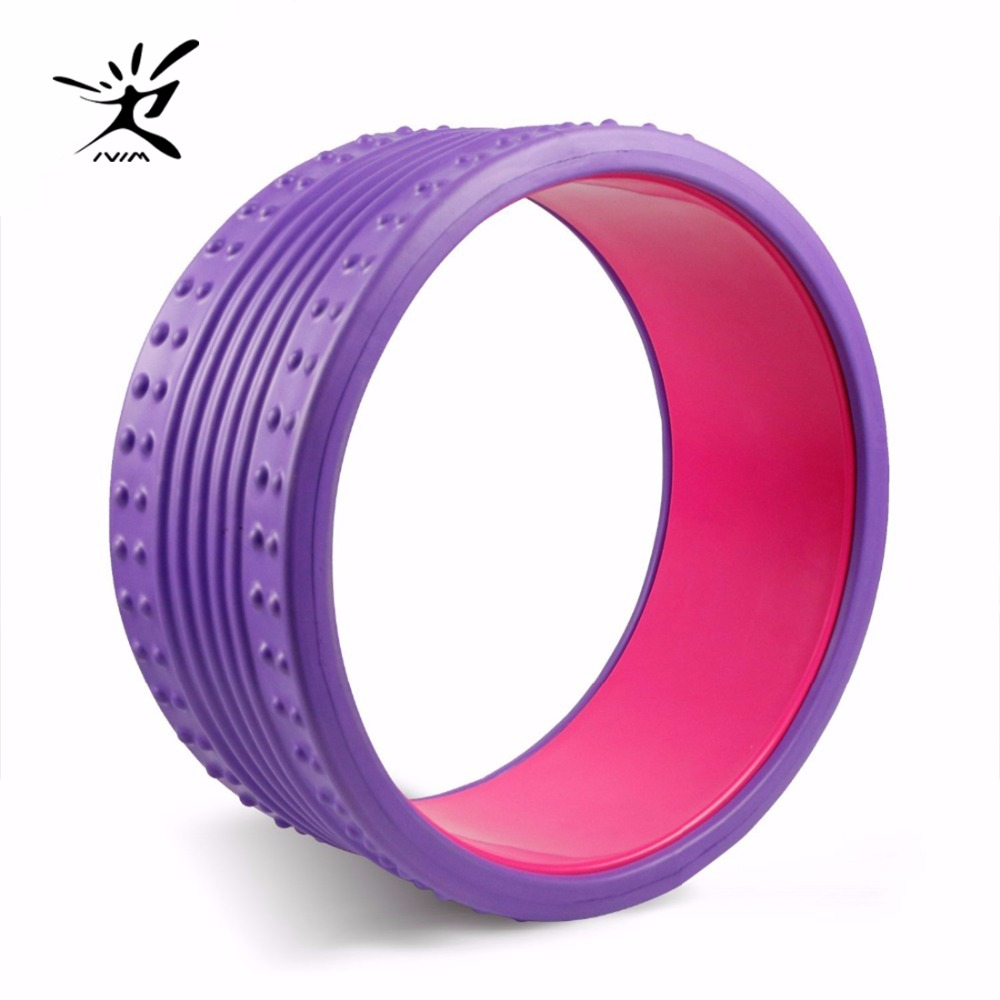 Yoga Wheel Eva Massage Roller Strongest Most Comfortable Massage Prop Wheel Perfect Circle For Fitness circle