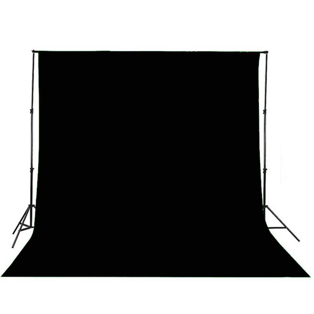 Black and white stage curtain - 2017 New Arrival Black Pleated Backdrop For Stage Curtain Drape 30cm X 26cm Durable Quality