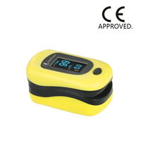 Heal Force OLED Fingertip Pulse Oximeter Blood Oxygen Saturation Monitor SPO2/Pulse Rate/Perfusion Index Detect Alarm Pouch FDA
