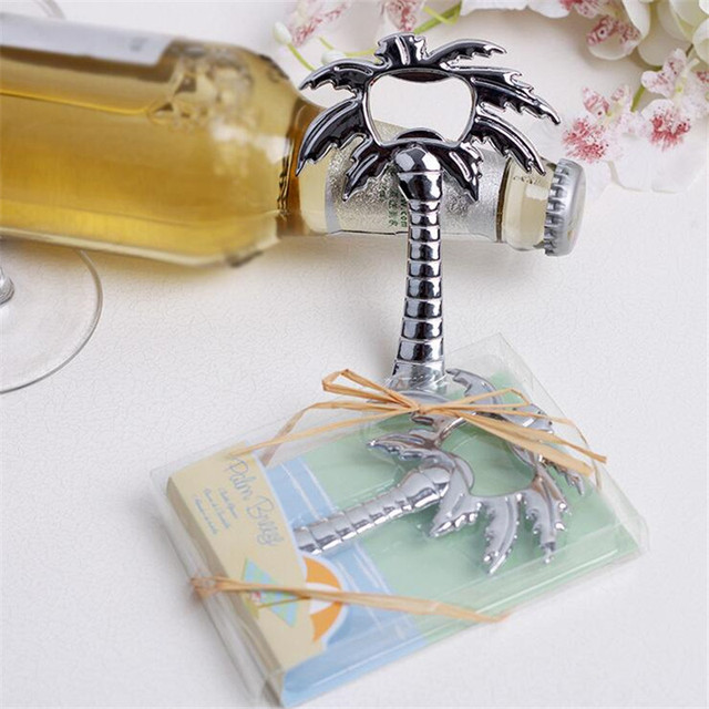 Coconut Tree Bottle Opener Wedding Favors And Gifts Event Party Supplies For Guests