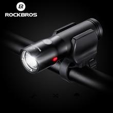 Rockbros велосипед свет power bank водонепроницаемый usb аккумуляторная свет велосипеда предупреждение стороны фонарик 700 люмен 18650 2000 мАч 5 режимов