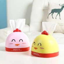 BF040 Fashion Chicken tissue box, paper towel box winding Cartoon Desktop 17cm*15cm*12cm