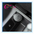 New ABS Cigarette Lighter Dust Cover sticker case for Ford New Fiesta Ecosport 2009 2010 2011 2012 2013 2014 car accessories