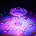 5 Light Modes Underwater Bathroom LED Floating Light for Kids Water Light Show LED Baby Bathing Light