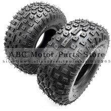 цена на 2pcs/lot of 6 Inch ATV Tire 145/70-6 four wheel vehcile Fit for 50cc 70cc 110cc Small ATV Front Or Rear Wheels