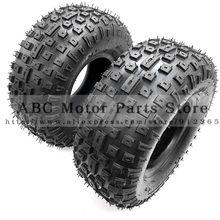 Pneu vehcile para pneu 2 pçs/lote de 6 Polegada atv, 145/70-6, quatro rodas, adequado para 50cc 70cc 110cc pequeno atv rodas dianteiras ou traseiras