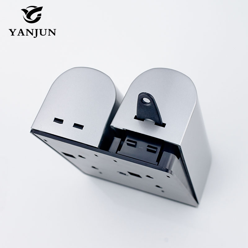 Image 4 - Yanjun Manual Hand Shower Shampoo Soap Dispenser Hand Sanitizer  Pump  350ml*2 Wall Mounted YJ2511 2shampoo soap dispensersoap  dispensershower shampoo