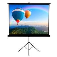 Проектор подставка для экрана 120 дюймов портативный Настольный 4:3 складной штатив монопод