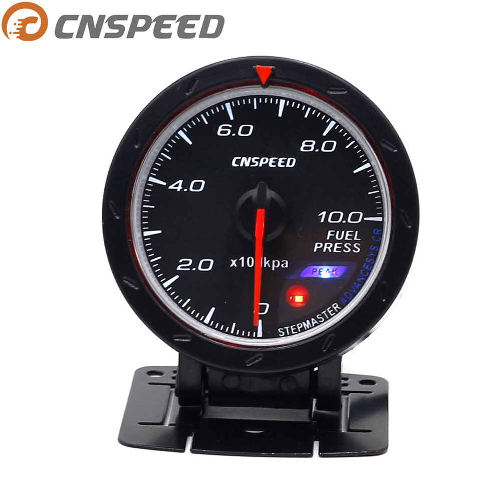 60mm 12V STEPPER MOTOR Gauge BLUE Light CLR Lens RACING Meter WATER TEMPERATURE Auto Parts & Accessories Auto Parts and Vehicles