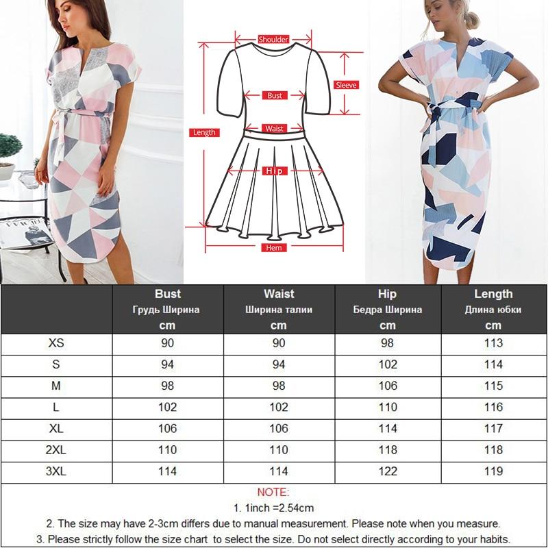 Gogoyouth Plus size Summer Dress Women 2018 Short Sleeve Patchwork Big Sundress Tunic Beach Party Dress Midi Long Robe Femme 5