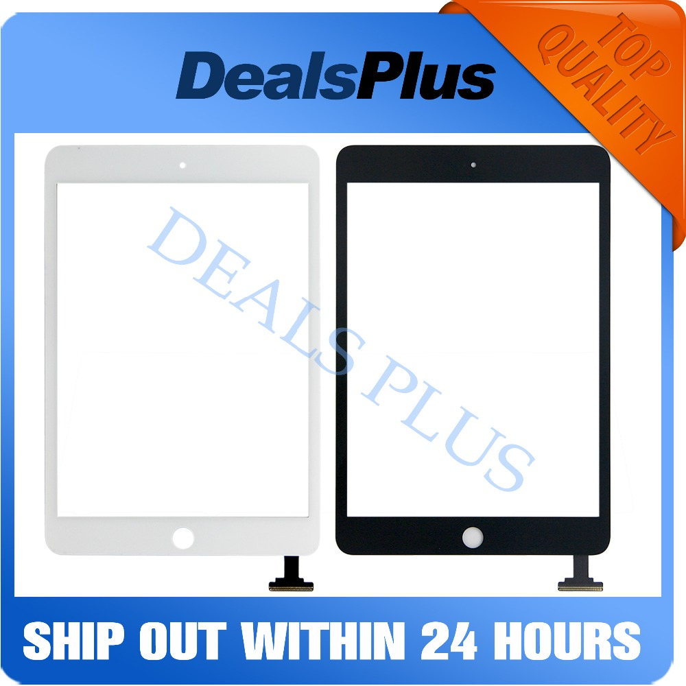 Replacement New Touch Screen Digitizer Glass Without IC Flex Cable For IPad Mini 1 A1432 A1454 A1455 Mini 2 A1489 A1490 A1491