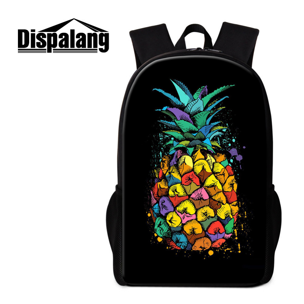 8870172cc6 Dispalang Pineapple Schoolbags for Boys Girls Children Back to School Bag  Women Mens Backpack Kids Large Bookbag Mochila-in Backpacks from Luggage    Bags on ...