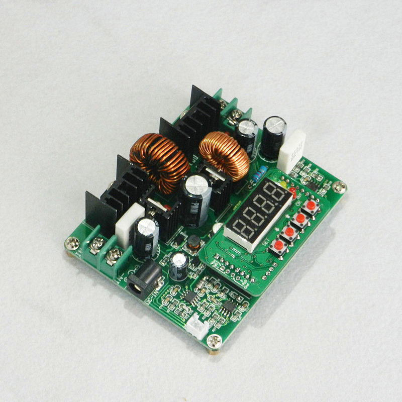 Digital DC Converter CC CV Power Module Led Driver Auto Step Up/Down 6A Max f85 5a adjustable power cc cv step down charge module digital voltmeter ammeter display led driver for arduino