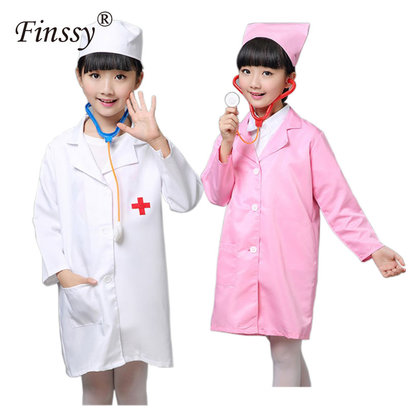Doctor Costume Nurse Uniform for Girls Game Clothing Wear Halloween Cosplay Costume for Kids Party Dress Hat Mask-in Boys Costumes from Novelty u0026 Special ...  sc 1 st  AliExpress.com & Doctor Costume Nurse Uniform for Girls Game Clothing Wear Halloween ...