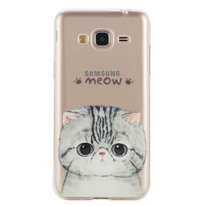 Модный чехол для samsung Galaxy J3 2016 j310 J310F ТПУ задняя крышка для samsung J3 J 3 310 310f 2016 силиконовая оболочка корпуса телефона
