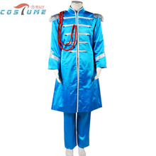 The Beatles Sgt. Pepper's Lonely Paul McCartney Band Uniform Jacket Pants For Men Halloween Cosplay Costume Custom Made