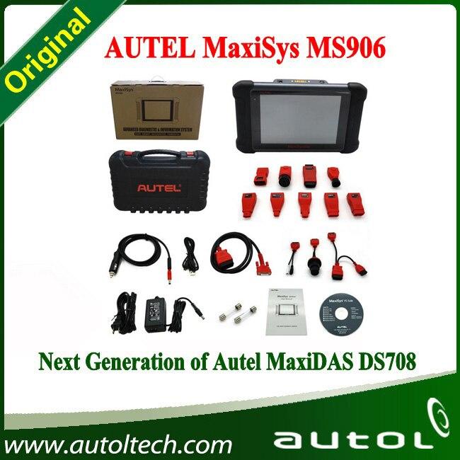 2016 Newest Original AUTEL MaxiSYS MS906 Auto Diagnostic Scanner Next Generation of Autel DS708