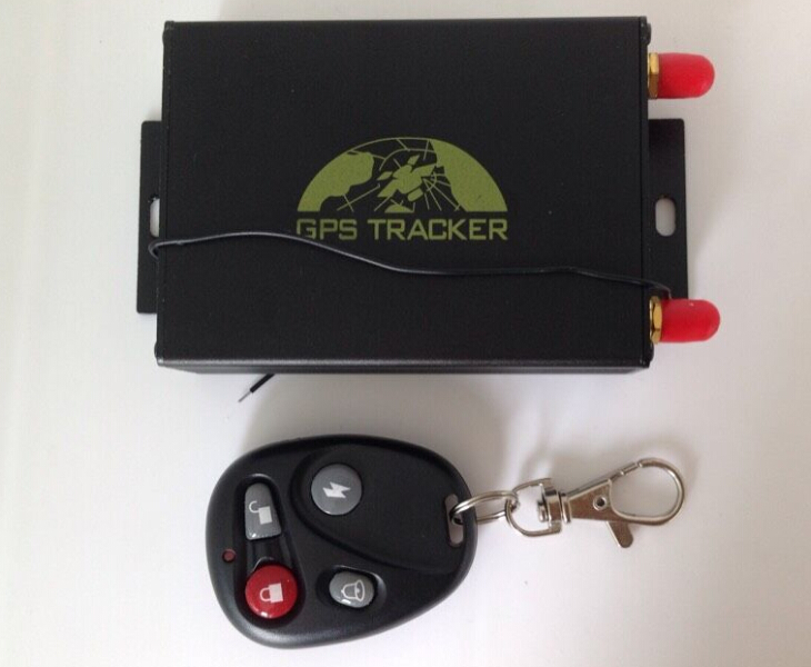 car security system GPS Car tracker with remote control GPS105B No box